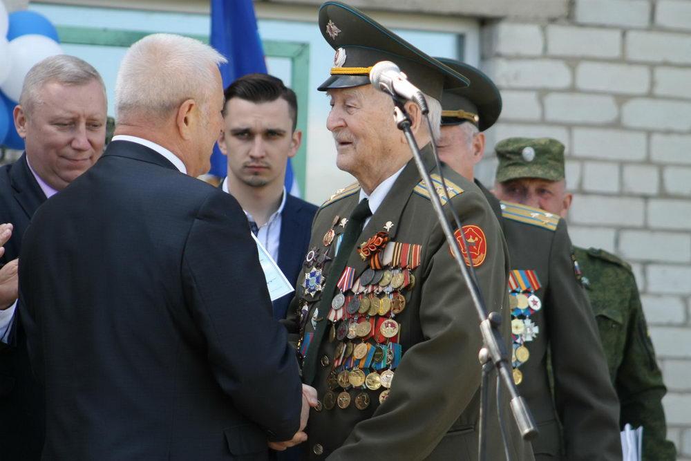 Курскому ВПК «Юный десантник» 30 лет