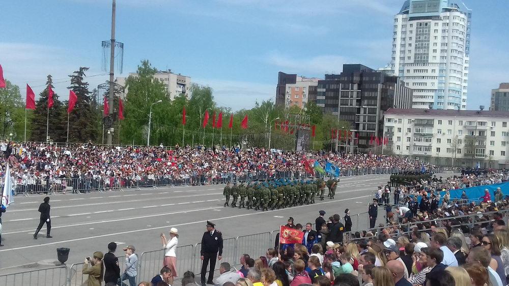 «Союз десантников и подразделений специального назначения Самарской области» приняли участие в параде Победы