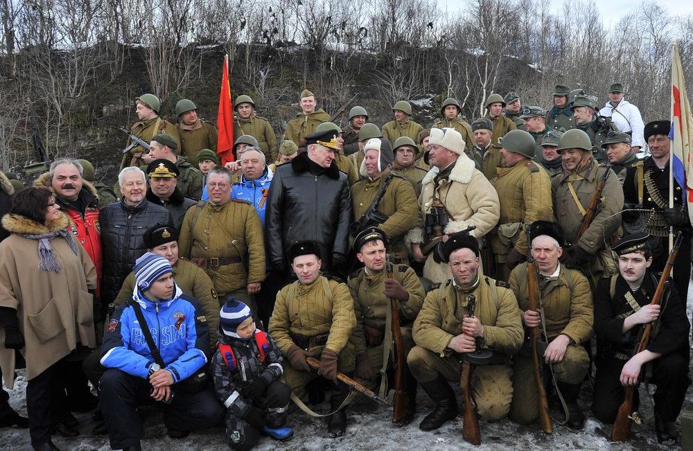 Историческая Военная реконструкция посвящённая дню Победы