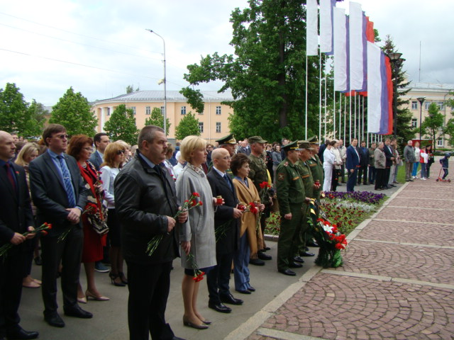 День памяти и скорби в городе Петрозаводске