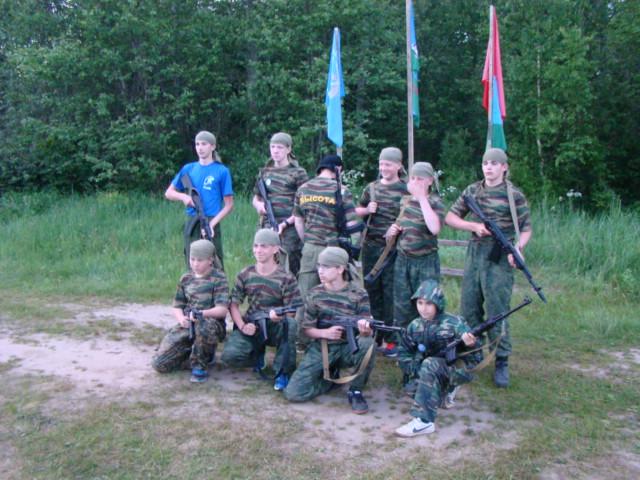 Военно-полевые сборы «Внуки Маргелова» продолжаются