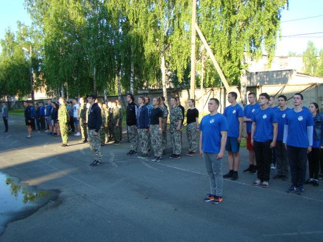 Военно-полевые сборы юнармейских отрядов республики Карелия