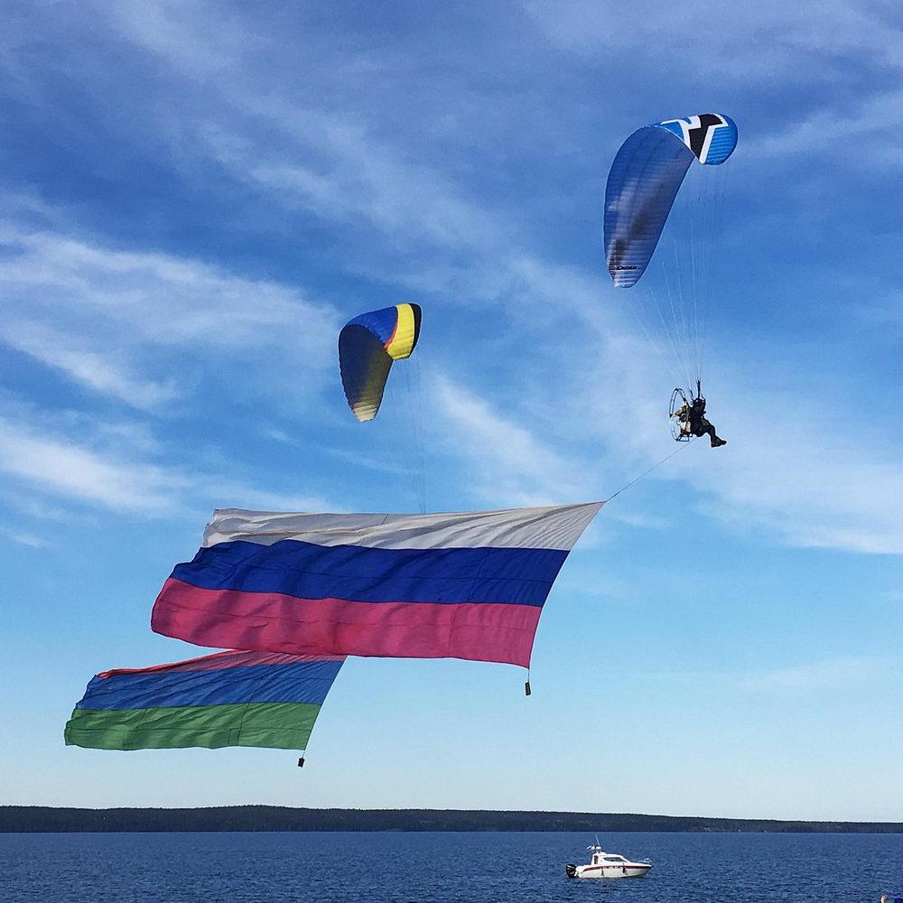 Всероссийские соревнования по парашютному спорту в дисциплине «точность приземления»