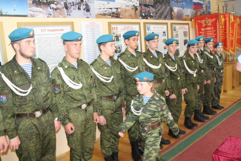 Юные десантники Кинешмы вступили в «Юнармию»