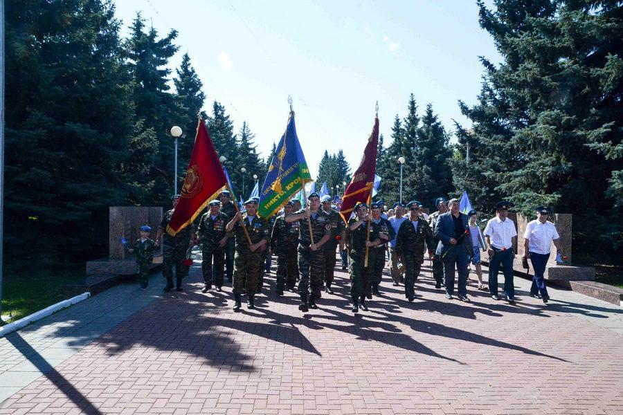 День Воздушно-десантных войск в Чебоксарах