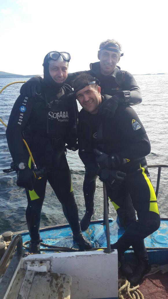 Личный состав Союза десантников Приморского края, продолжает проходить водолазную подготовку