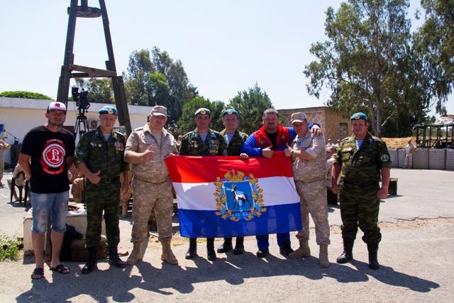 Представители СРООВ «Берет» посетили места дислокации российского контингента в Сирии