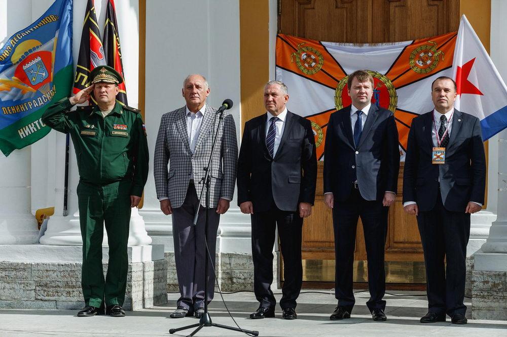 День Российской Гвардии в Санкт-Петербурге 2017 г.