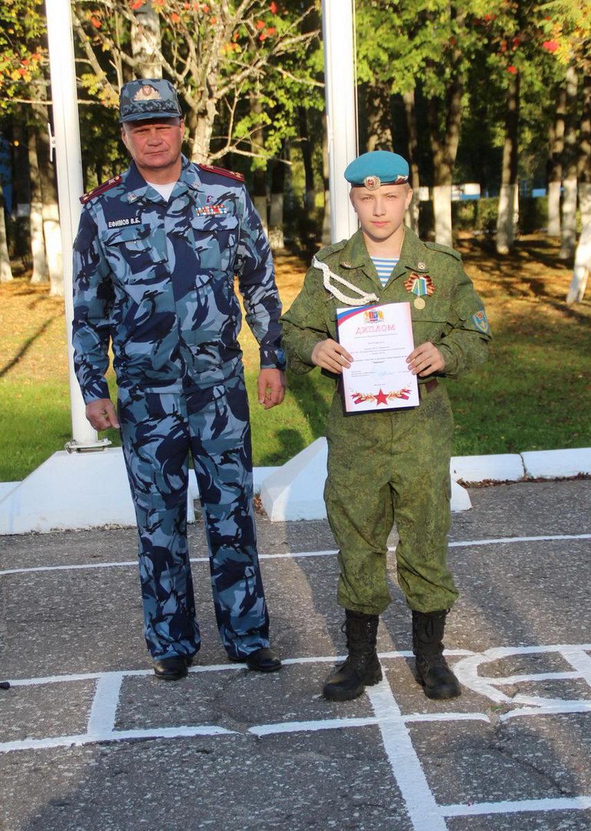 Ивановская Областная Общественная организация «СОЮЗ ДЕСАНТНИКОВ» участвовала на областной «ЗАРНИЦЕ»