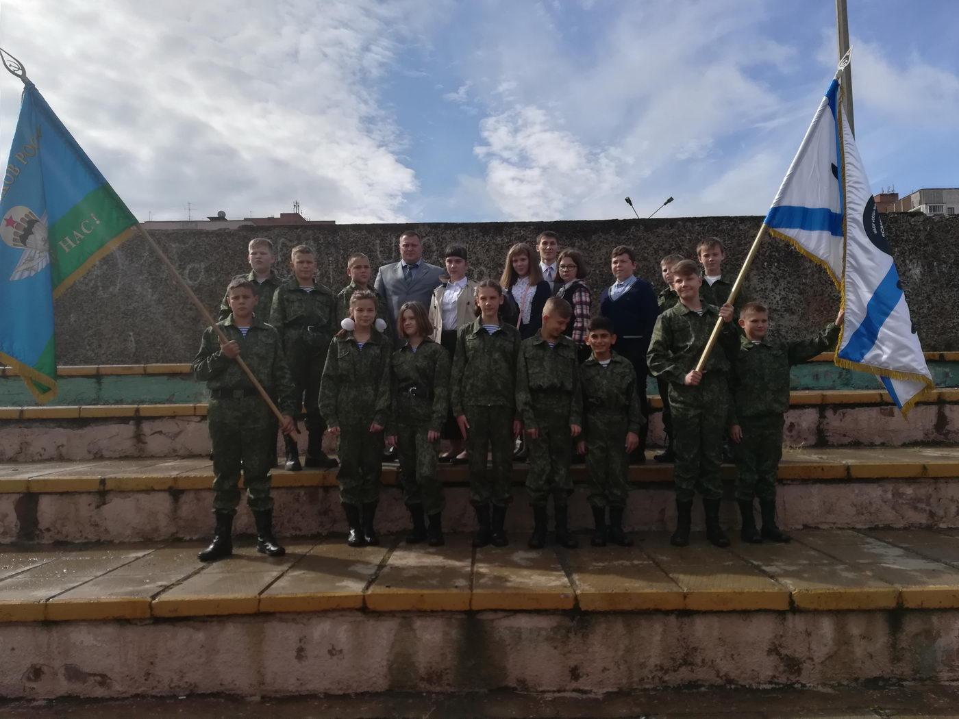 Открытие кадетского класса в городе Братск