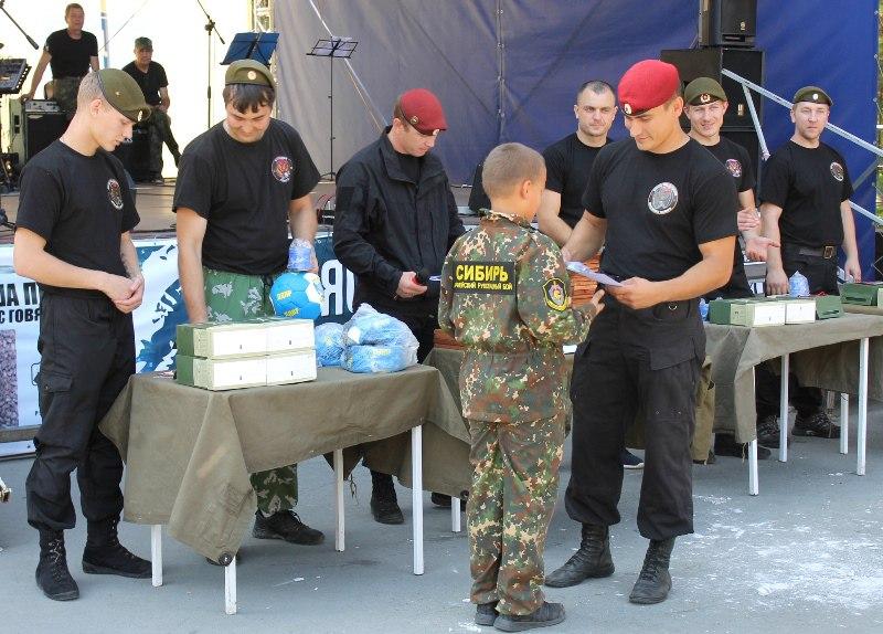 Празднование дня подразделений специального назначения ВВ МВД РФ