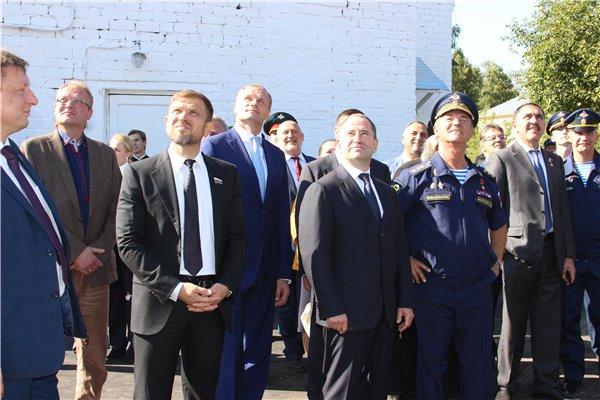 1 сентября Балахнинский район посетил полномочный представитель Президента в ПФО Михаил Бабич