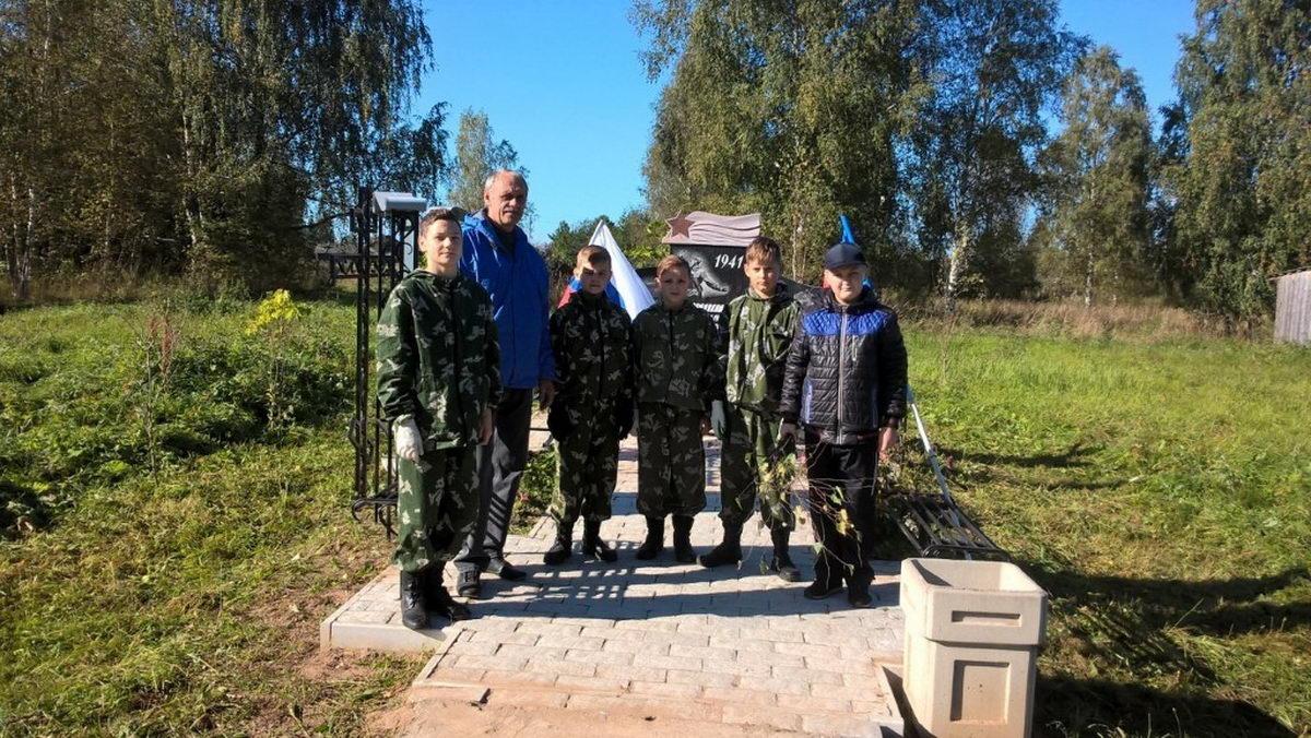 Ивановская Областная Общественная Организация «СОЮЗ ДЕСАНТНИКОВ» провела Экологический субботник
