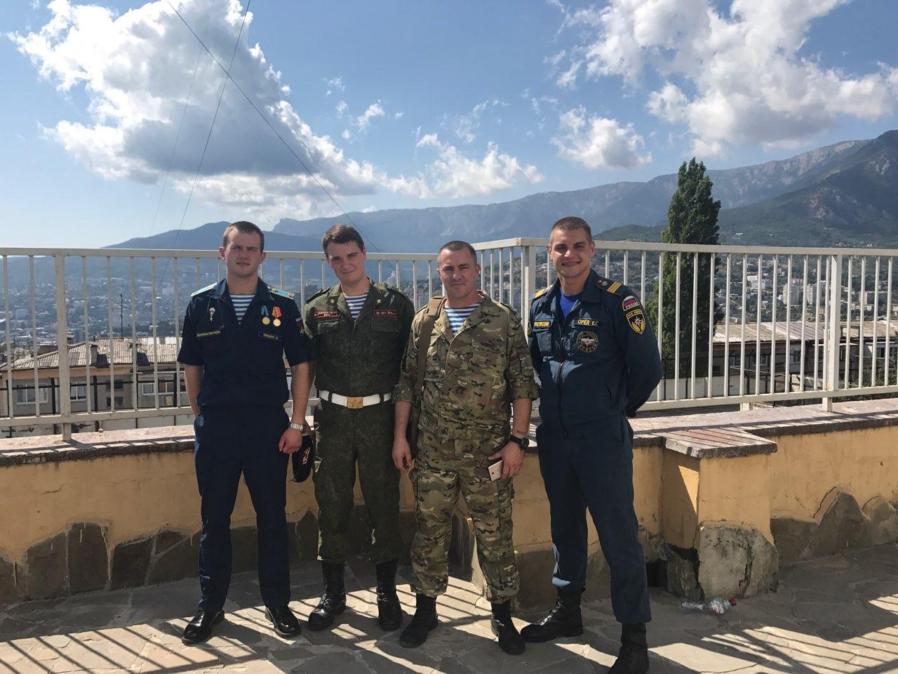 Занятия по антитеррористической безопасности в школах п. Никита и п. Массандра городского округа Ялты в Республике Крым