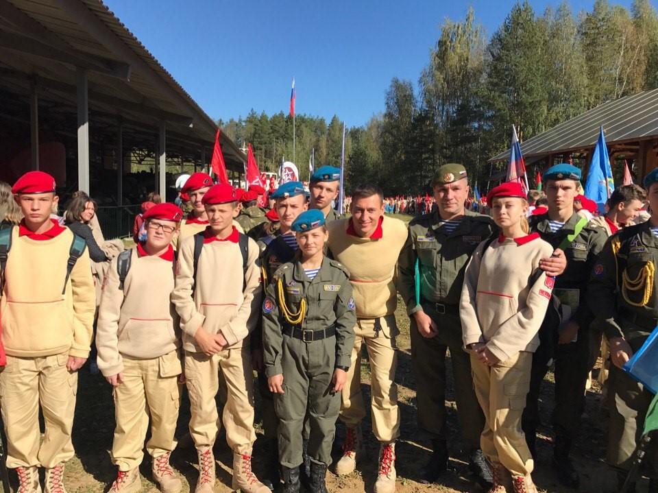 Юнармейцы ВПО «СОВА» 23.09.2017 года. Приняли участие в Военно тактических играх «ЮАРМИЯ -2017»