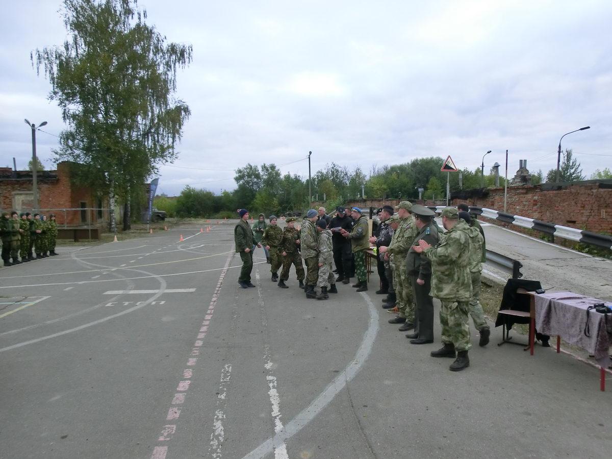 Областные соревнования по военно-прикладным дисциплинам в городе Клин