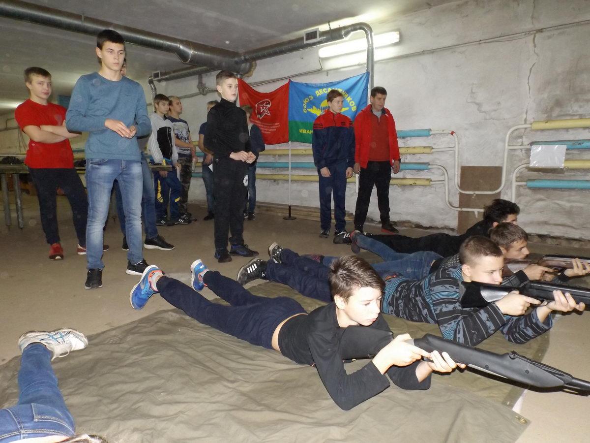 Ивановская Областная Общественная Организация «СОЮЗ ДЕСАНТНИКОВ» провела соревнования по стрельбе в г.Приволжске