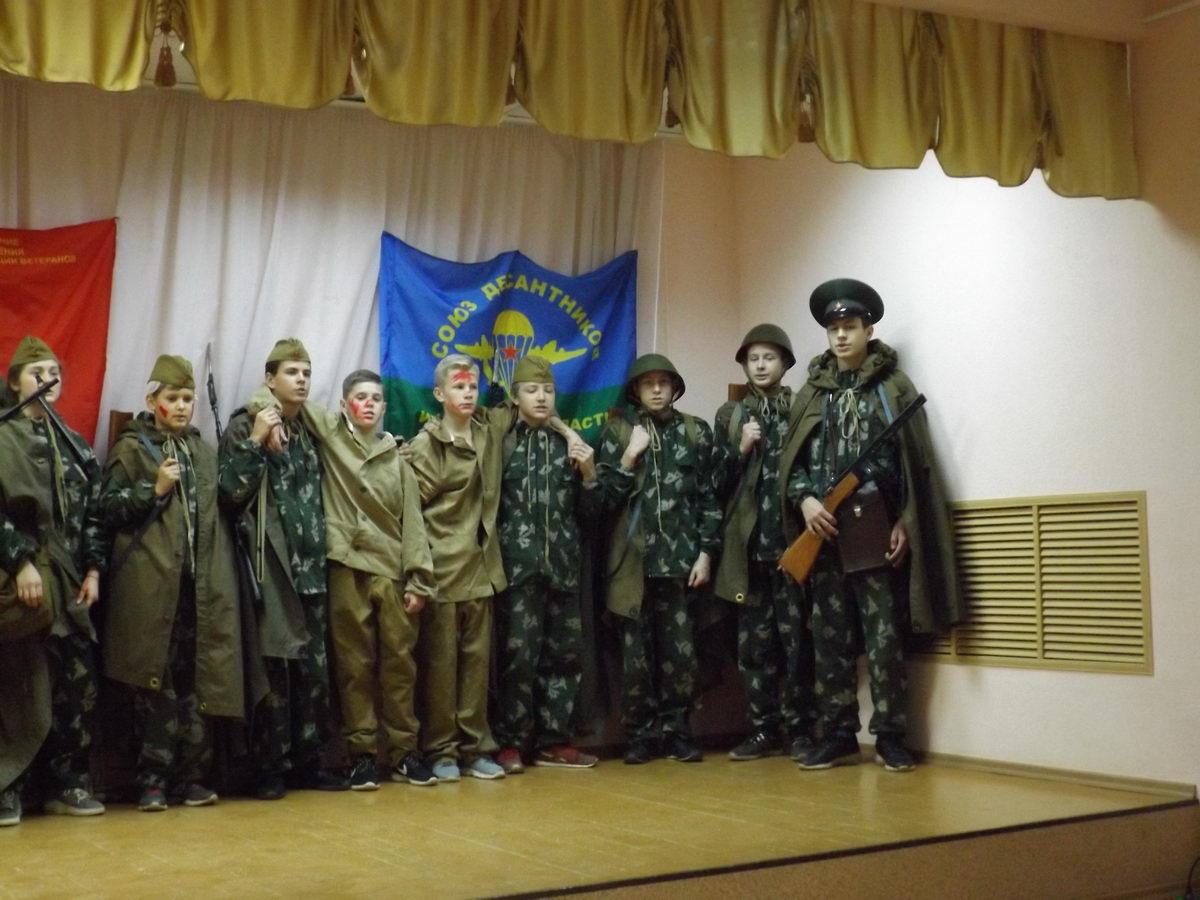 Собрание Приволжского районного отделения «Союз десантников» Ивановской области