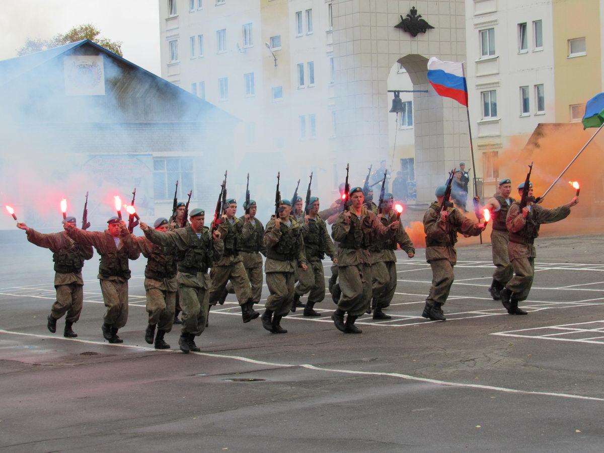 Ивановская областная общественная организация «СОЮЗ ДЕСАНТНИКОВ» в праздновании 69-й годовщины образования 217-го ПДП.