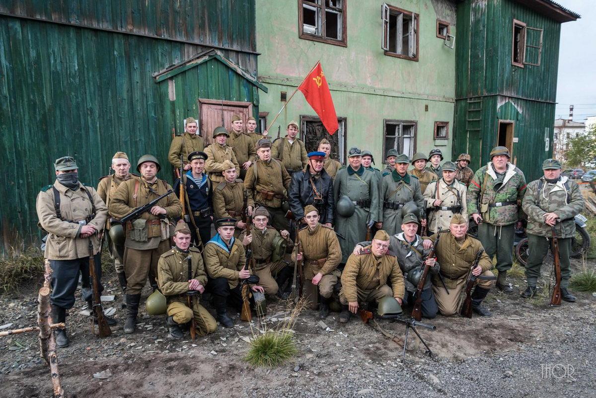 Освобождение Заполярья 1944 год