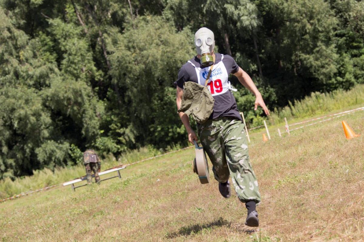 Первый спортивно-патриотический фестиваль ООО «Газпром трансгаз Уфа»