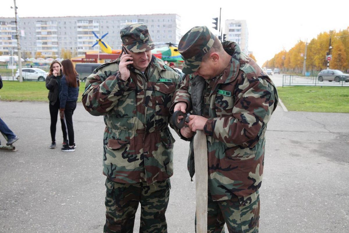 В Усинске прошел первый этап спортивно-патриотической игры «Зарница»