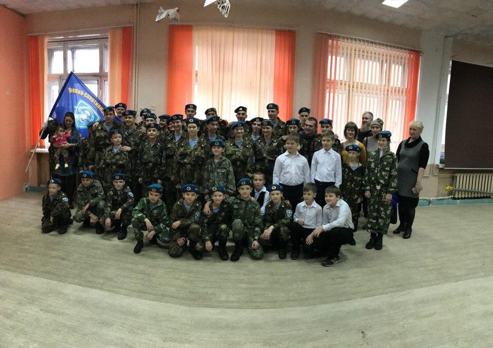 В военно-спортивной школе «Союз» прошло торжественное принятие присяги