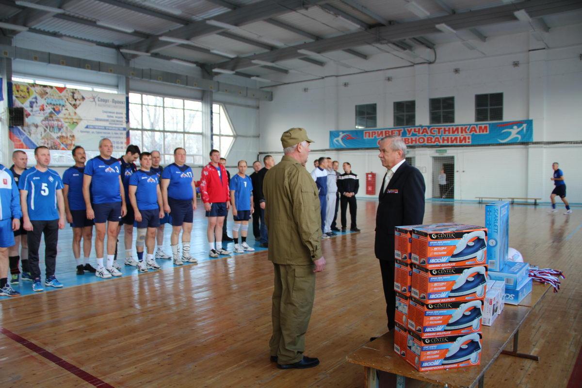 VII ежегодный областной турнир по волейболу среди инвалидов и участников боевых действий Оренбургской области, посвящённый памяти погибших воинов в локальных войнах и военных конфликтах
