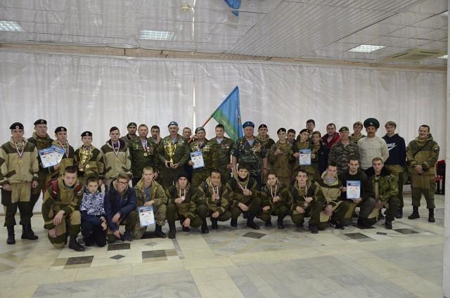 2-е ежегодные военно-патриотические соревнования «Купол2017»