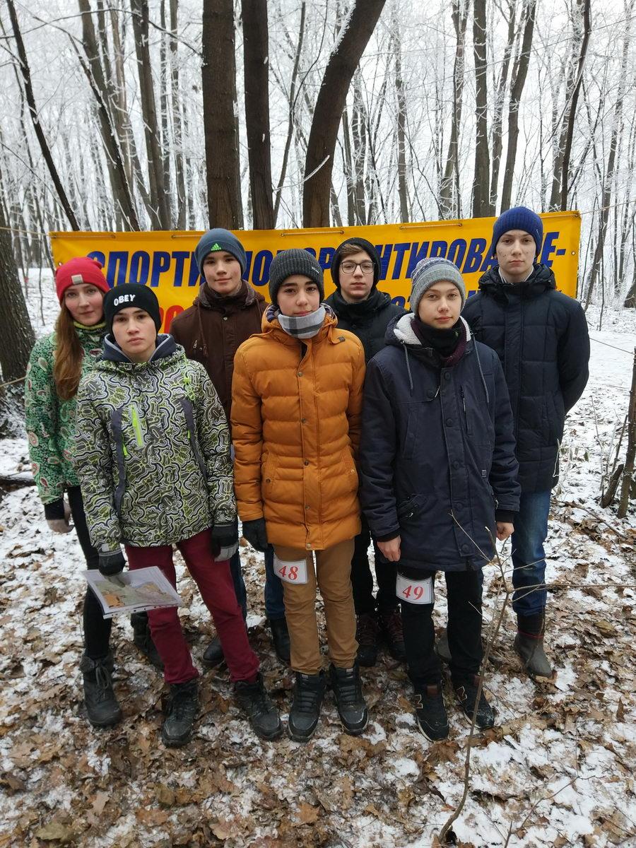 Юные десантники на открытии зимнего сезона Федерации спортивного ориентирования Башкортостана