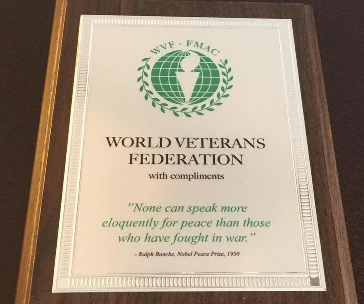 Интервью с президентом Всемирной Федерации Ветеранов
