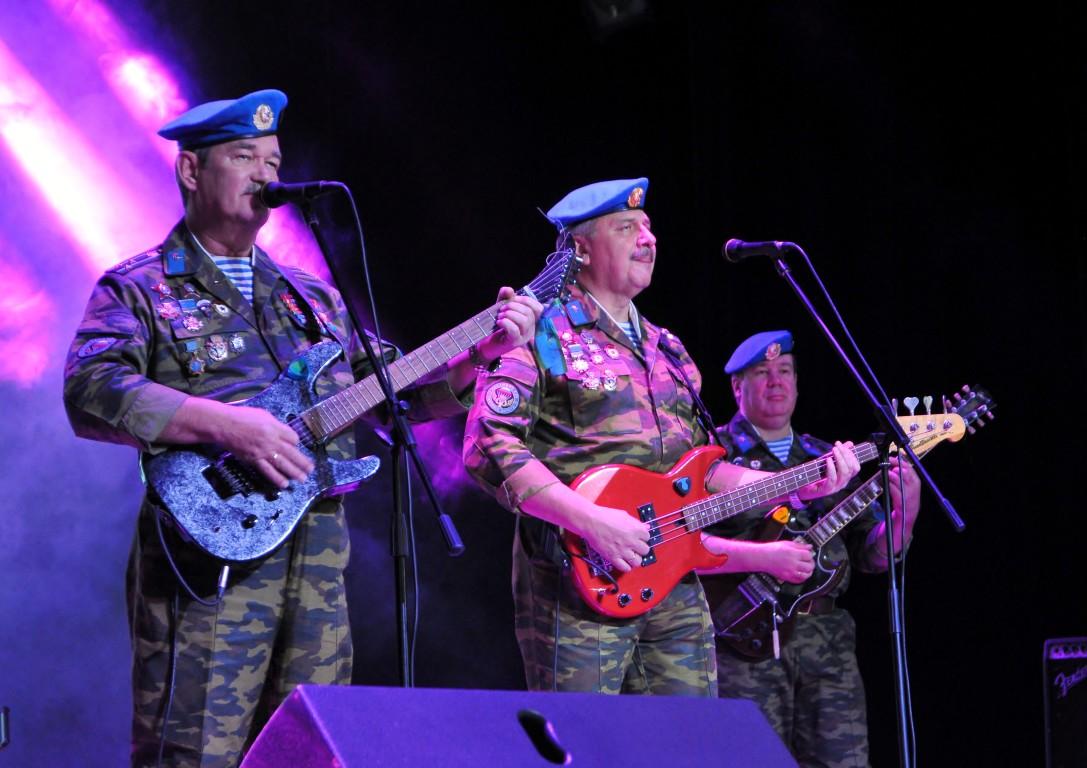 «Голубые береты» в Усинске!