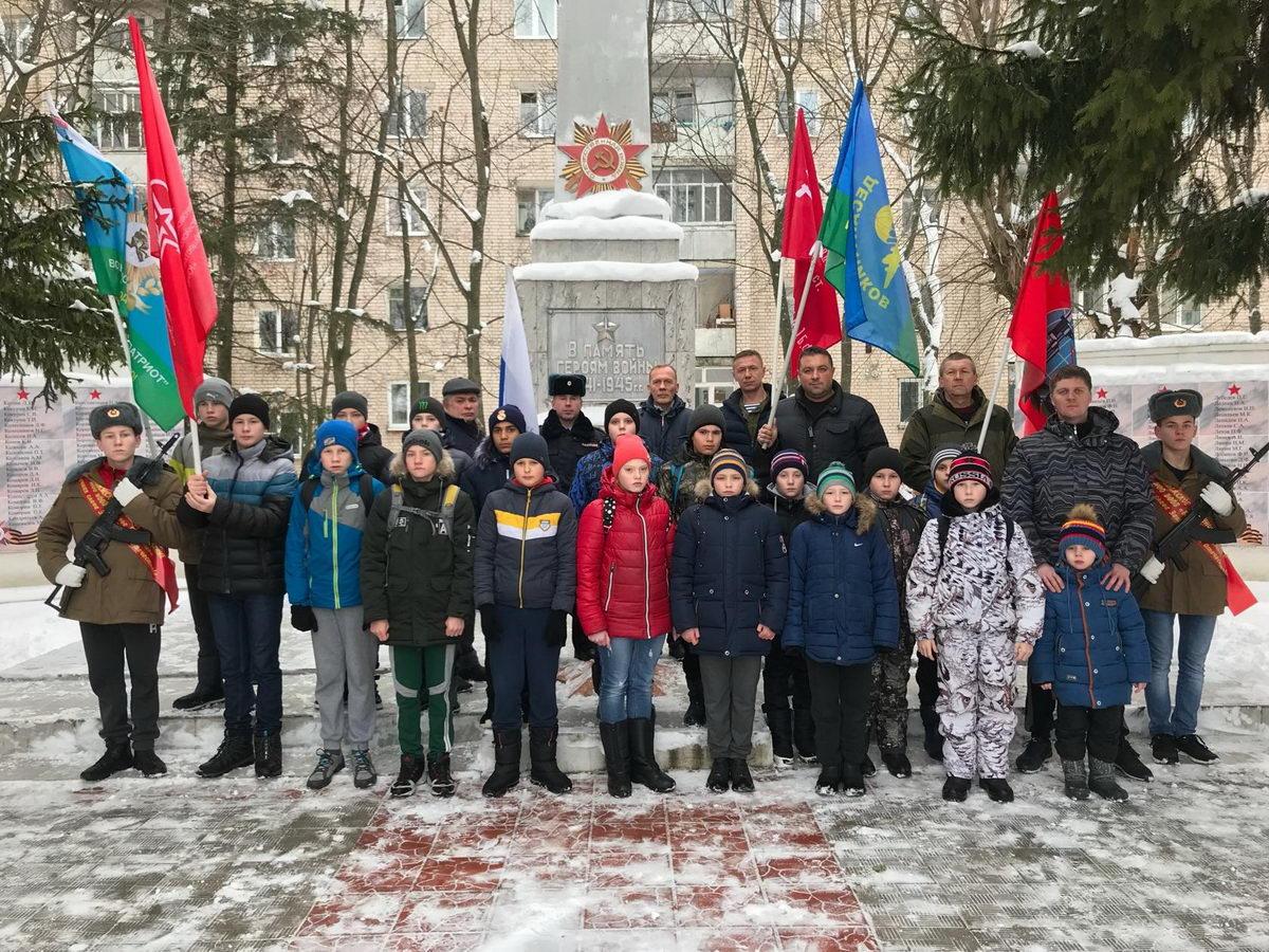День Неизвестного солдата в Приволжске