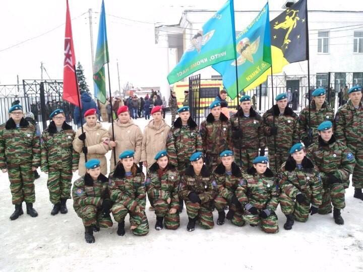 Юнармейцы ВПО «СОВА» приняли участие в областном мероприятии «Вахта Памяти»