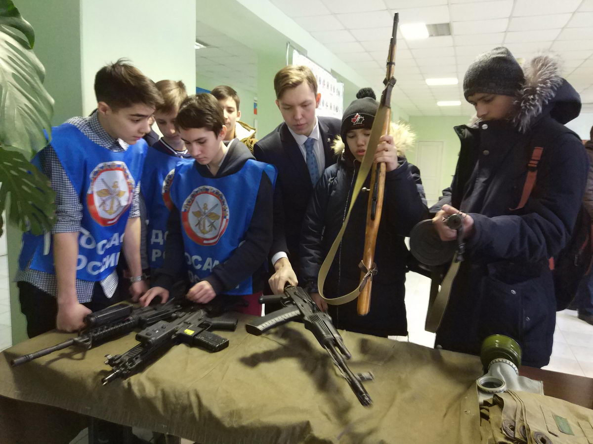 Открытие месячника оборонно-массовой и военно-патриотической работы в Башкортостане