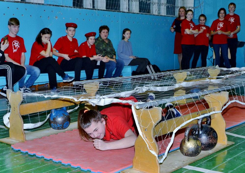 УРА! УРА! УРА! В г. Усинске прошли первые юнармейские игры!