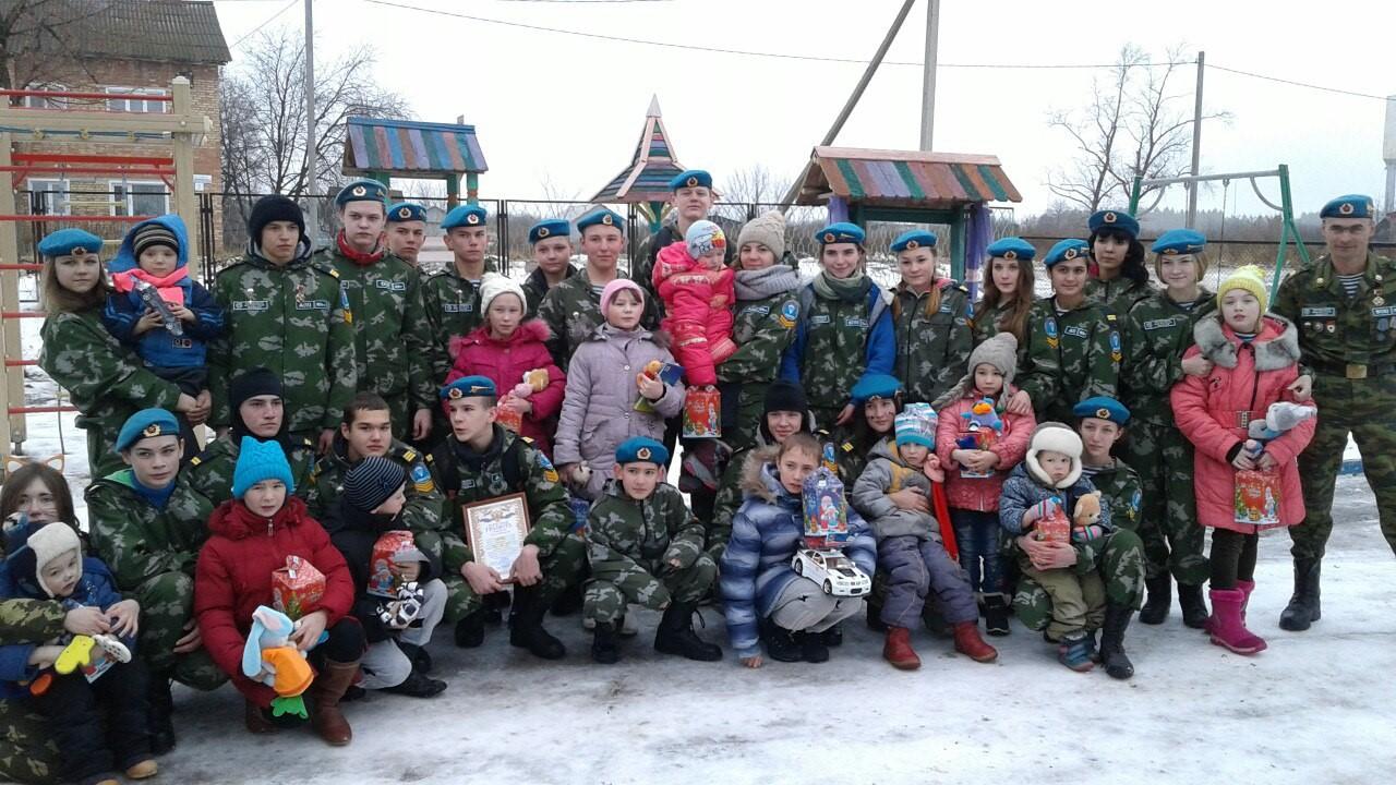 «Новогодний десант» ветеранов-десантников Башкортостана