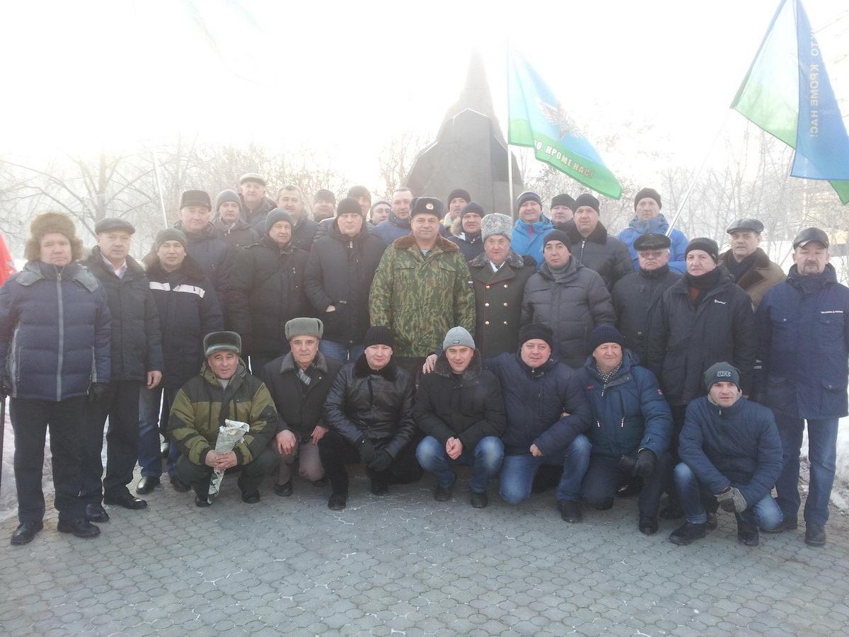 Митинг посвященный 29 годовщине вывода войск из Афганистана в Ульяновске
