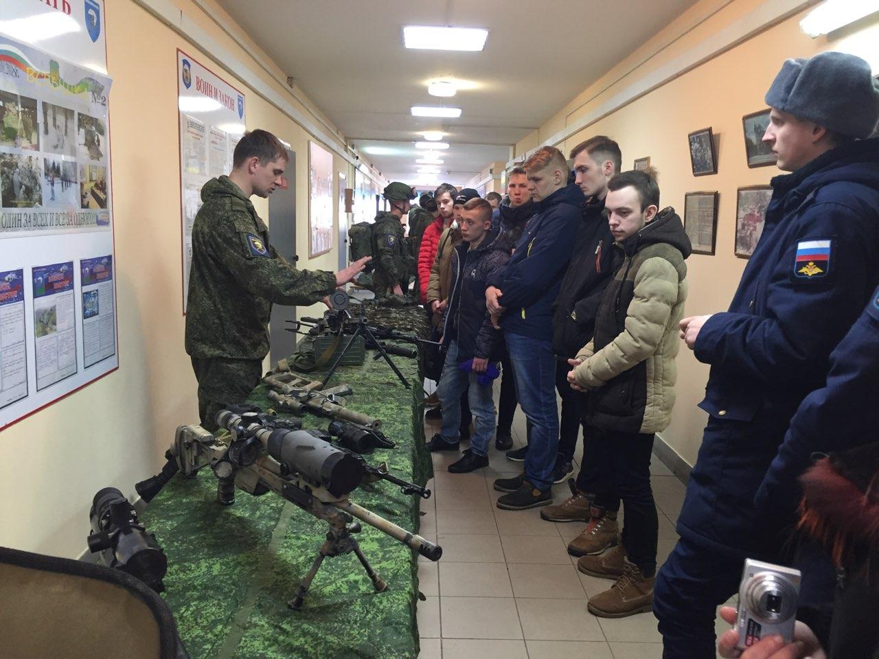 """Союз десантников"" со студентами в 217 пдп"