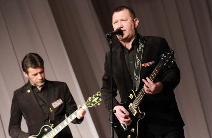 Концерт посвященный 23 февраля в г. Кинешме