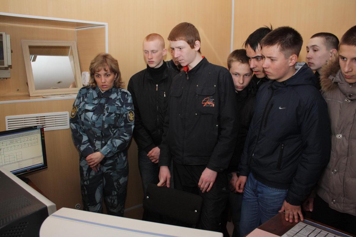 Школьники ГО г. Уфа в гостях у «Смерча»
