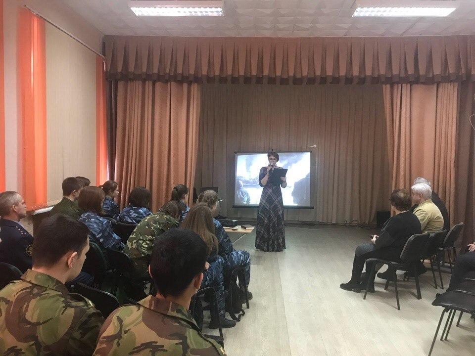 Встреча курсантов ВПК г. Новосибирска и НСО с воинами интернационалистами