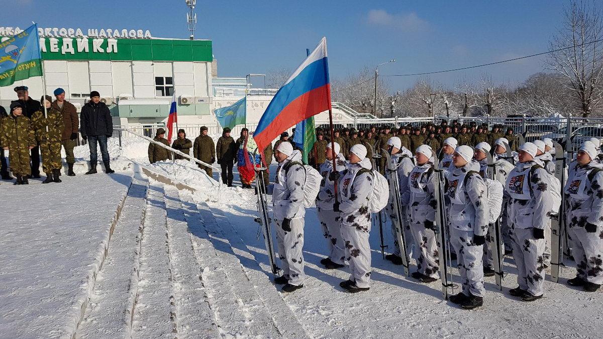 Теплый прием курсантам Десантникам РВВДКУ городским округом Орехово-Зуево