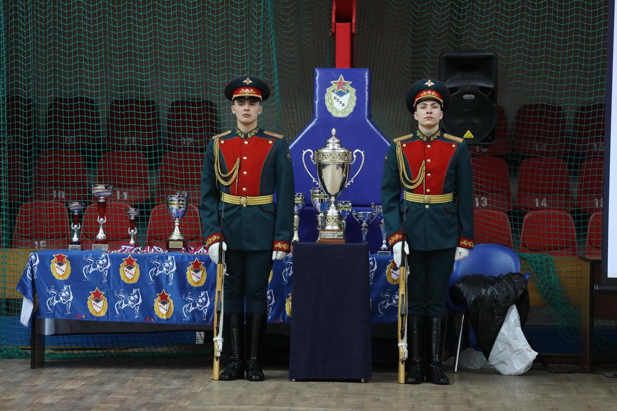 В ЦСКА возродили армейский гиревой спорт