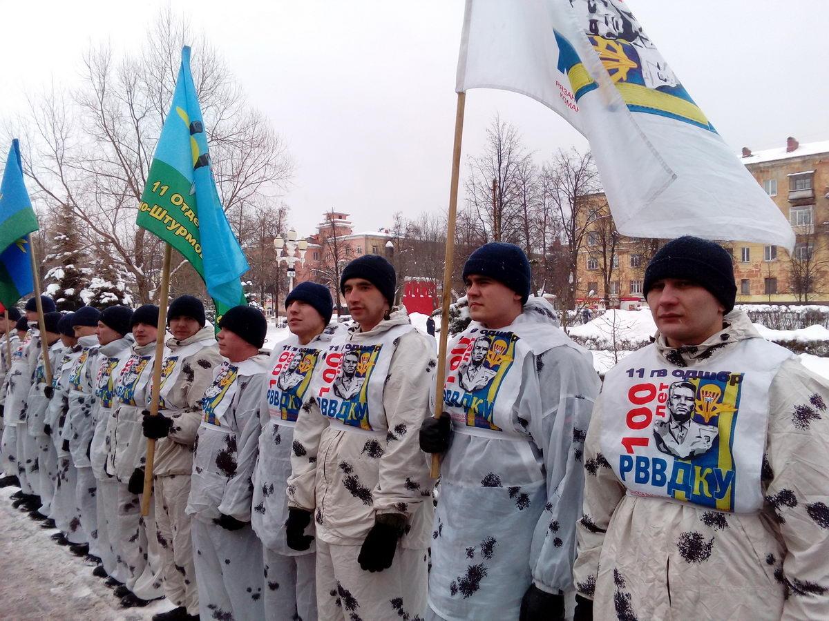 Продолжается сверхдальний лыжный переход десантников