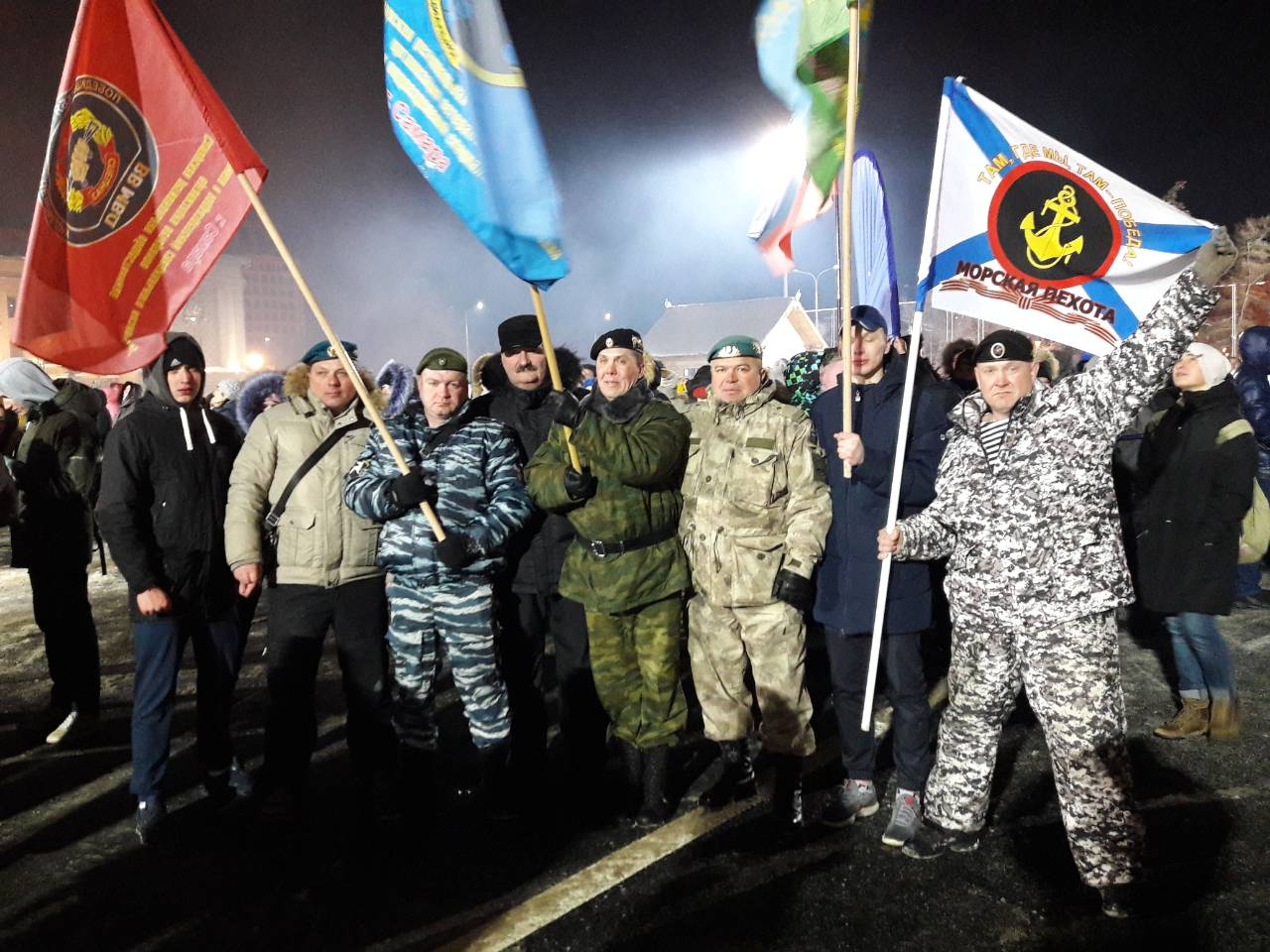 На площади имени В.В.Куйбышева г. Самары состоялась областная общественная акция «Россия – Крым: вместе навсегда!»