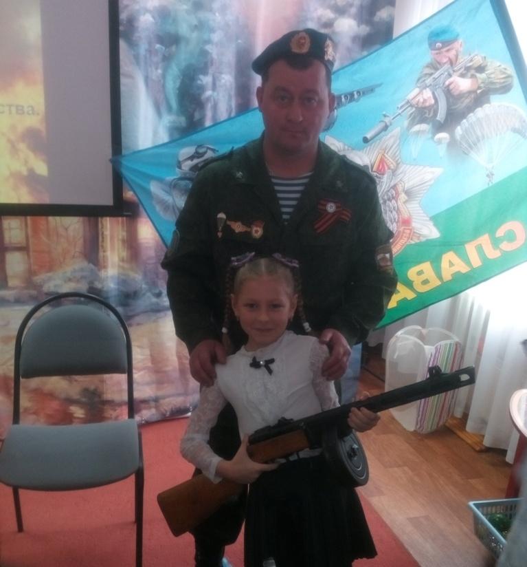 Урок мужества в детском саду «Истоки» г. Самара
