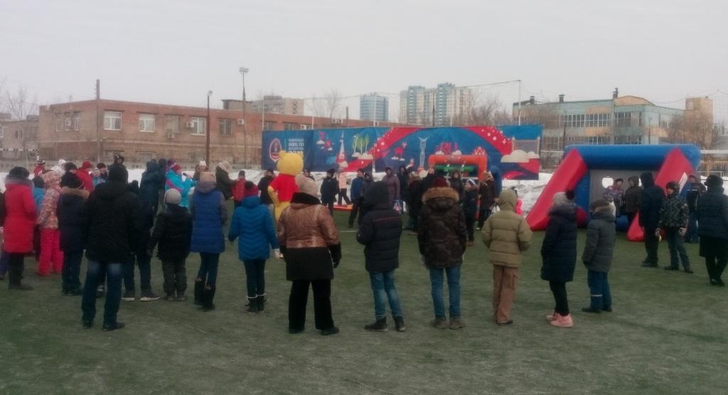 Спортивный праздник «Зимние старты» для детей с ограниченными возможностями здоровья в Самаре