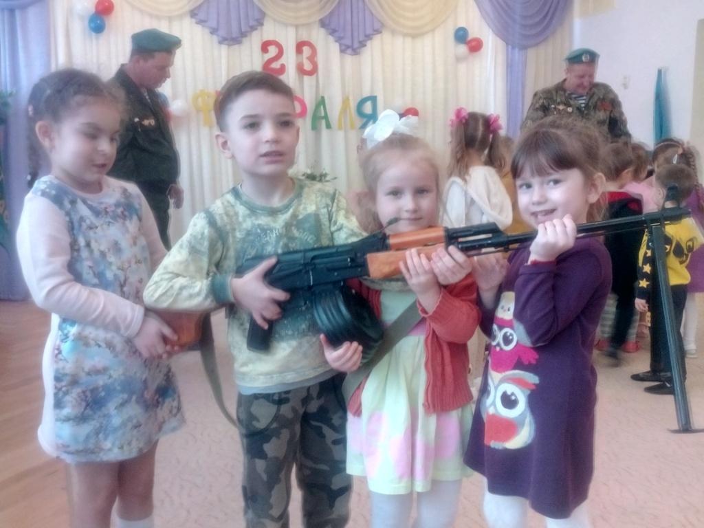 Урок мужества в детском саду №96 г. Самара