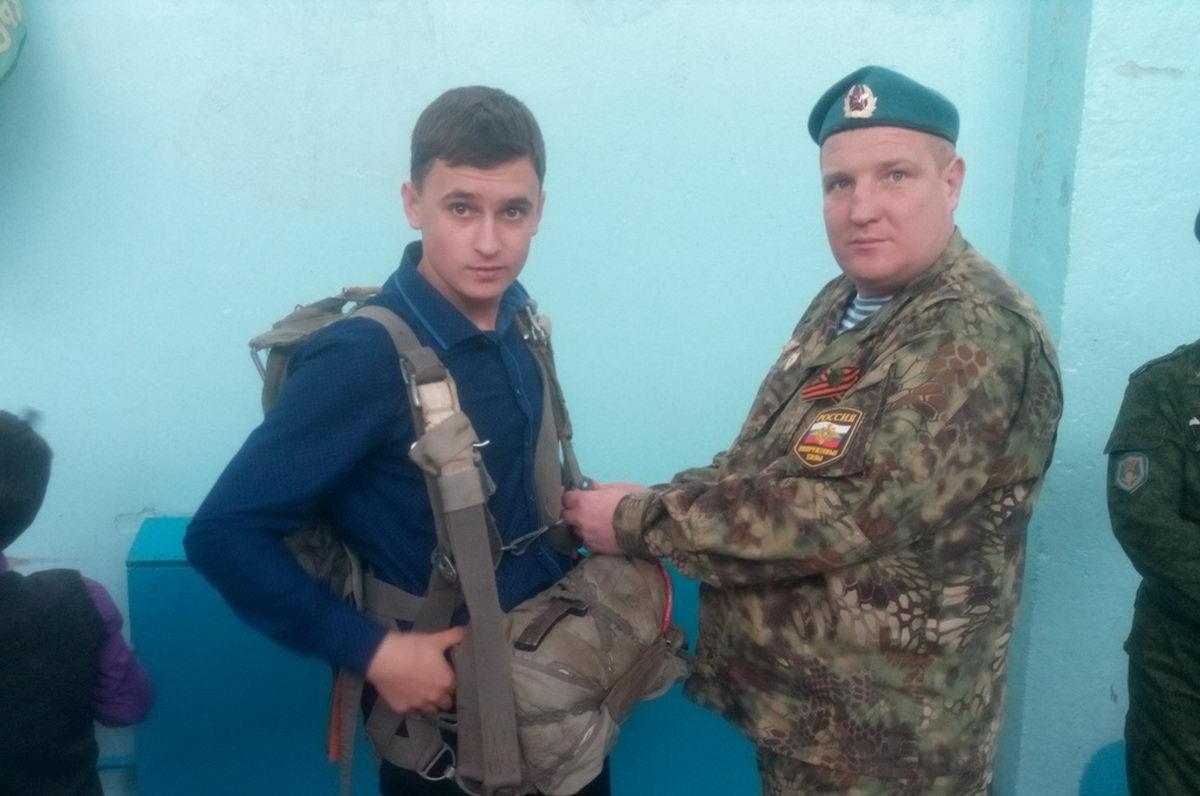 Урок мужества в школе п. Южный Самарской области